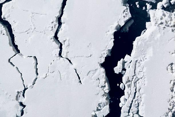 Potato starch looking like aerial view of glacier:スマホ壁紙(壁紙.com)