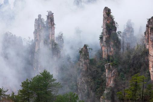 """Steep「""""Zhangjiajie,Hunan,China""""」:スマホ壁紙(15)"""