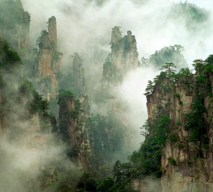 Natural Column「Zhangjiajie National Forest」:スマホ壁紙(17)