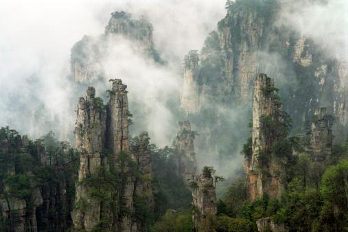 Natural Column「Zhangjiajie National Forest」:スマホ壁紙(16)
