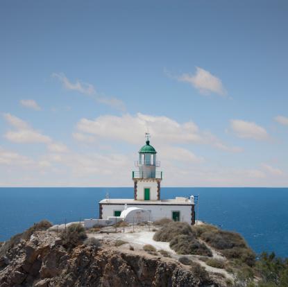 Aegean Sea「The Lighthouse at Akrotiri, Santorini」:スマホ壁紙(16)
