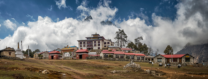 Khumbu「Nepal, Himalaya, Khumbu, Tengboche」:スマホ壁紙(18)
