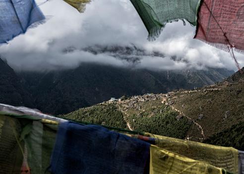 Namche Bazaar「Nepal, Himalaya, Khumbu, Everest region, Namche Bazar」:スマホ壁紙(18)
