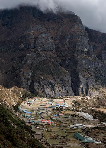 Khumbu「Nepal, Himalaya, Khumbu, Everest region, Thame」:スマホ壁紙(2)