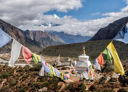 Khumbu「Nepal, Himalaya, Khumbu, Everest region, Thame」:スマホ壁紙(0)