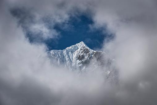 Khumbu「Nepal, Himalaya, Khumbu, Everest region, Thanna Bhanjyang」:スマホ壁紙(8)