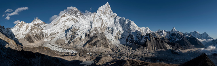 Khumbu「Nepal, Himalaya, Khumbu, Everest region, Everest and Nuptse」:スマホ壁紙(8)