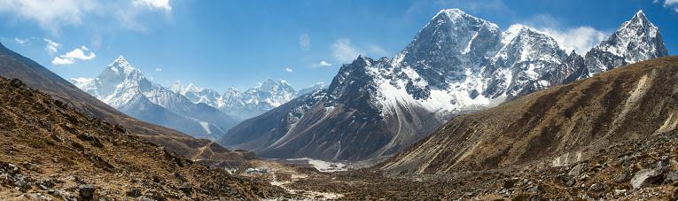 Khumbu「Nepal Himalayas above Dughla」:スマホ壁紙(9)