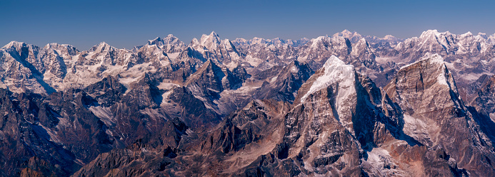Ama Dablam「Nepal, Himalaya, Solo Khumbu, Taboche peak from Ama Dablam South West Ridge」:スマホ壁紙(4)