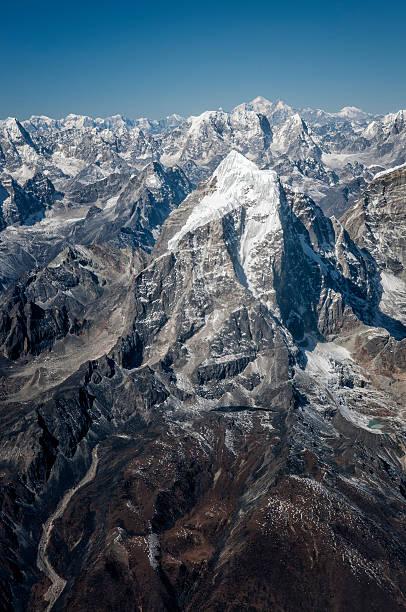 Nepal, Himalaya, Solo Khumbu, Taboche Peak from Ama Dablam South West Ridge:スマホ壁紙(壁紙.com)
