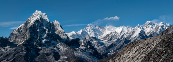 Ama Dablam「Nepal, Himalaya, Solo Khumbu, Ama Dablam」:スマホ壁紙(7)