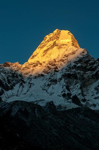 Ama Dablam「Nepal, Himalaya, Solo Khumbu, Ama Dablam」:スマホ壁紙(3)