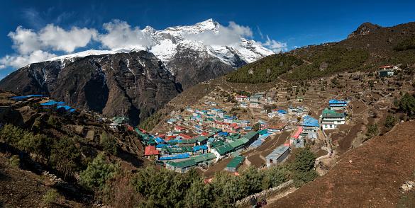 Khumbu「Nepal, Himalaya, Khumbu, Namche Bazaar」:スマホ壁紙(7)