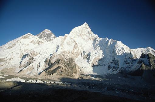 Khumbu Glacier「Nepal, Himalayas, Nuptse and Khumbu glacier, Mt Everest」:スマホ壁紙(1)
