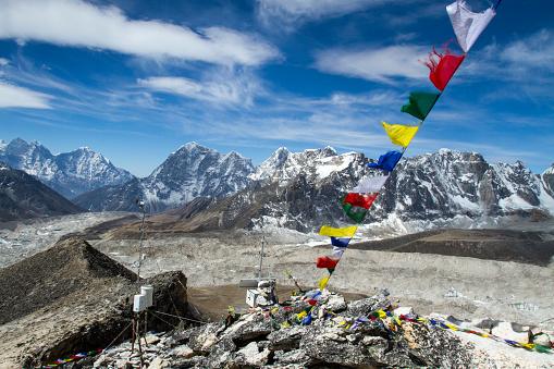 Khumbu Glacier「Nepal Himalayas from Kala Patthar」:スマホ壁紙(5)