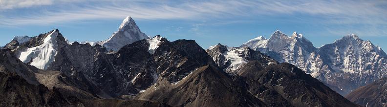 Ama Dablam「Nepal Himalayas from Kala Patthar」:スマホ壁紙(5)