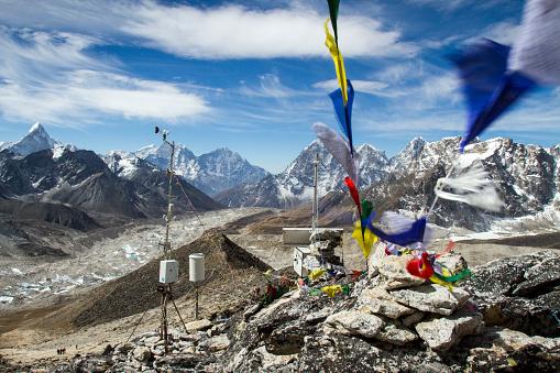 Khumbu Glacier「Nepal Himalayas from Kala Patthar」:スマホ壁紙(6)