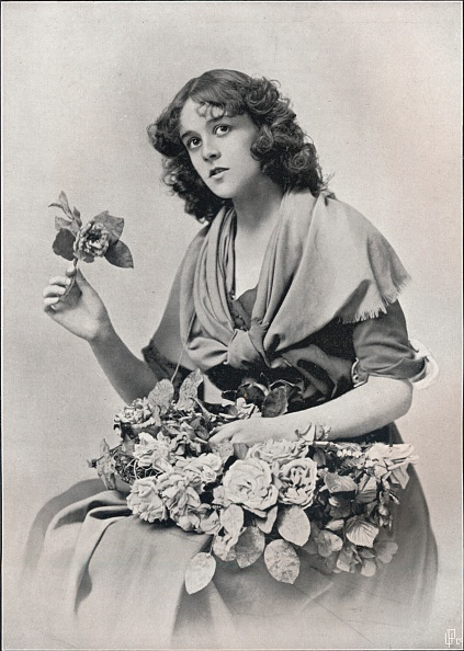 Flower Girl「'The Flower Girl', c1903」:写真・画像(6)[壁紙.com]