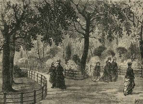 Kensington Gardens「The Flower Walks」:写真・画像(3)[壁紙.com]
