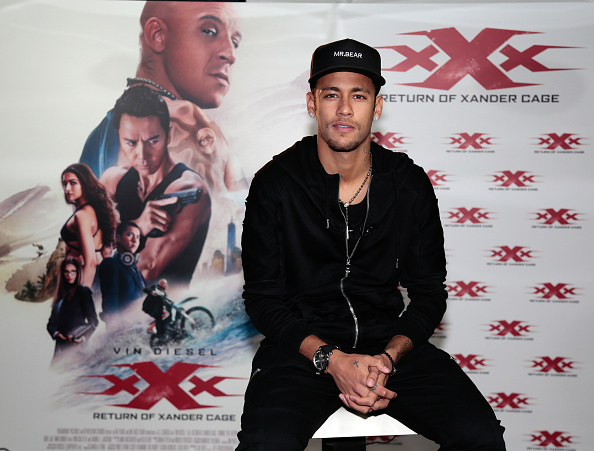 Neymar da Silva「Paramount Pictures 'xXx: Return of Xander Cage' - Barcelona Screening」:写真・画像(4)[壁紙.com]