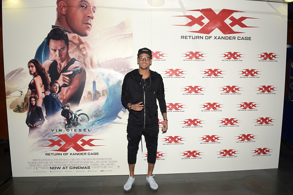 ネイマール「Paramount Pictures 'xXx: Return of Xander Cage' - Barcelona Screening」:写真・画像(10)[壁紙.com]