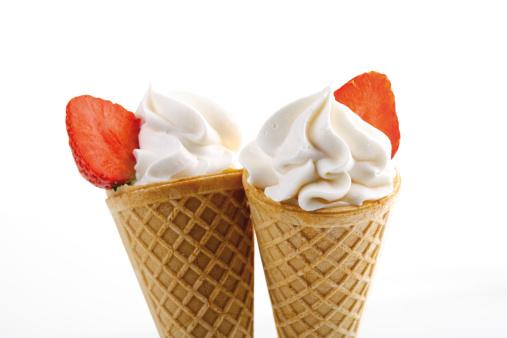 アイスクリーム「Strawberry icecream」:スマホ壁紙(14)