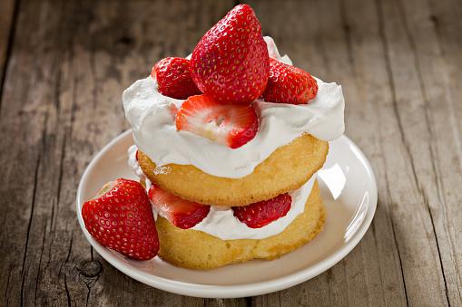 ケーキ「イチゴのショートケーキ」:スマホ壁紙(6)