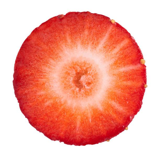 Strawberry portion on white:スマホ壁紙(壁紙.com)