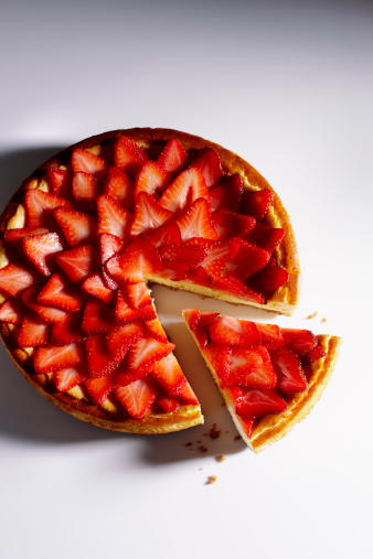 ケーキ「strawberry cheesecake」:スマホ壁紙(0)