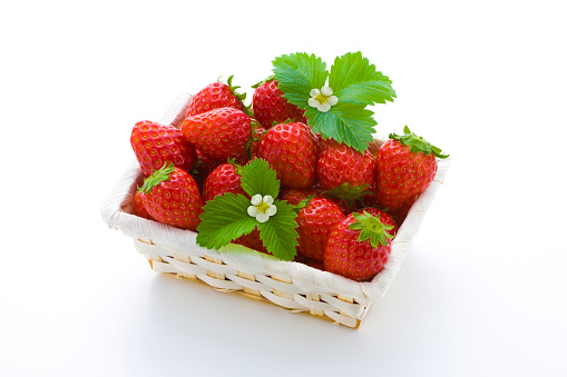 Basket「Strawberry」:スマホ壁紙(10)