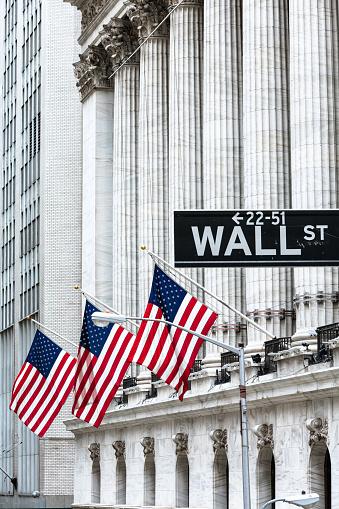 Mid-Atlantic - USA「New York Stock Exchange, Wall street, New York, USA」:スマホ壁紙(8)