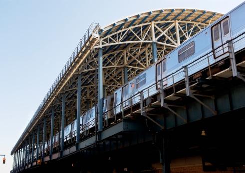 Coney Island - Brooklyn「USA, New York State, Brooklyn, Coney Island, Subway Platform」:スマホ壁紙(17)