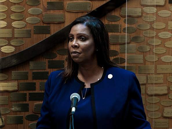Attorney General「NY Attorney General Letitia James Visits Rochester As Office Investigates Death Of Daniel Prude」:写真・画像(7)[壁紙.com]