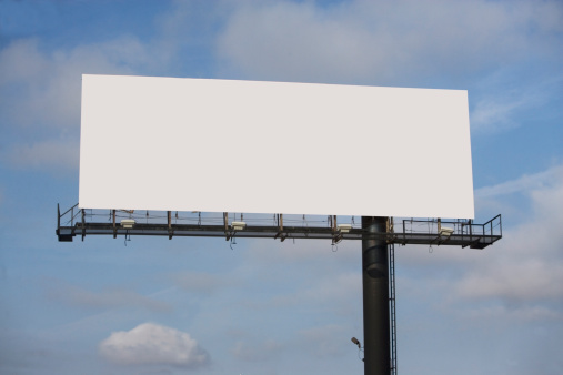 Marketing「USA, New York State, Blank billboard」:スマホ壁紙(5)