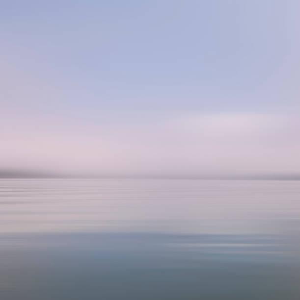 USA, New York State, Saranac Lake, View of lake at dusk:スマホ壁紙(壁紙.com)