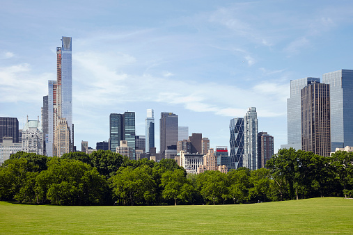マンハッタン セントラルパーク「USA, New York State, New York City, City skyline」:スマホ壁紙(10)