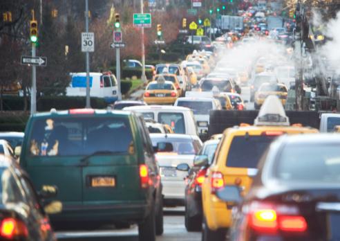 Traffic「USA, New York state, New York city, traffic jam」:スマホ壁紙(19)