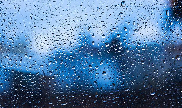 USA, New York State, New York City, Droplets on window:スマホ壁紙(壁紙.com)