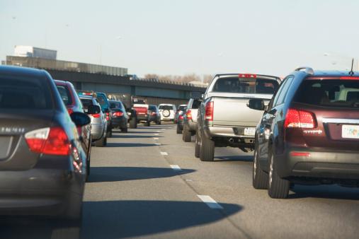 Traffic「USA, New York State, New York City, Traffic on road」:スマホ壁紙(1)