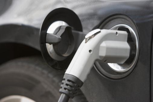Power Supply「USA, New York State, New York City, close-up of electric car」:スマホ壁紙(17)