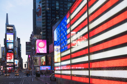 Projection Screen「USA, New York State, New York City, Times Square」:スマホ壁紙(4)