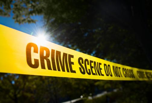 Crime Scene「USA, New York State, New York City, Crime scene barrier tape」:スマホ壁紙(4)