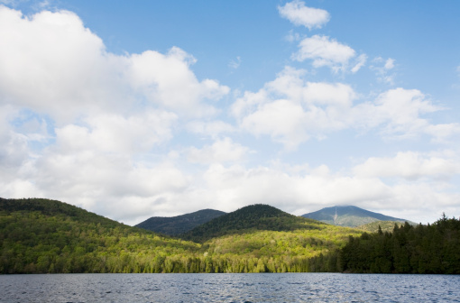 Adirondack Mountains「USA, New York State, Adirondack Mountains, Lake Placid」:スマホ壁紙(9)