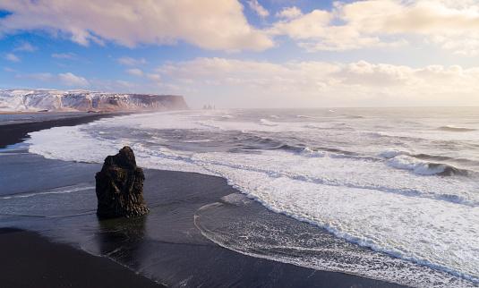 Dyrholaey「Reynisfjara Beach Iceland」:スマホ壁紙(7)