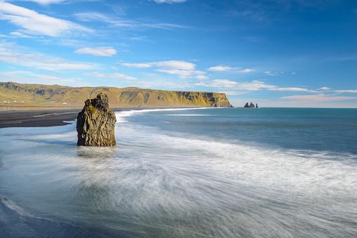 Dyrholaey「Reynisfjara Beach, Iceland」:スマホ壁紙(9)