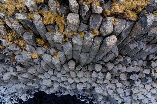 Basalt Column「Reynisfjara basalt columns」:スマホ壁紙(10)