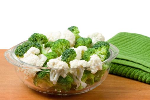 Broccoli「Bowl of Raw Cauliflower and Broccoli」:スマホ壁紙(14)