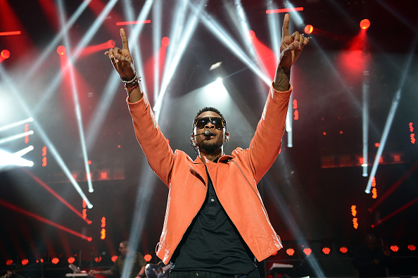Hammersmith Apollo「Usher Performs For The 'American Express Unstaged' Series」:写真・画像(16)[壁紙.com]