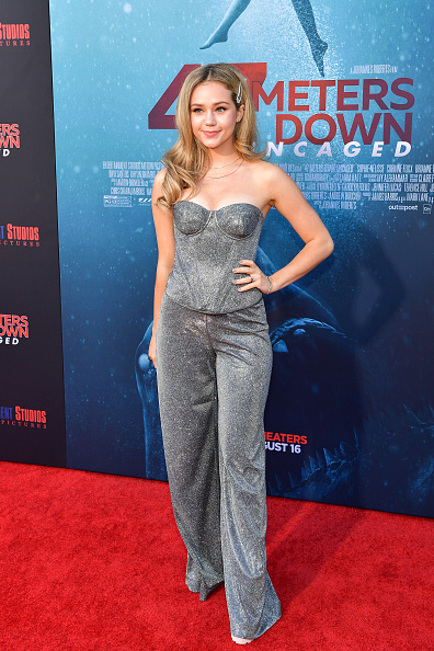 "Sleeveless Top「LA Premiere Of Entertainment Studios' ""47 Meters Down Uncaged"" - Arrivals」:写真・画像(6)[壁紙.com]"