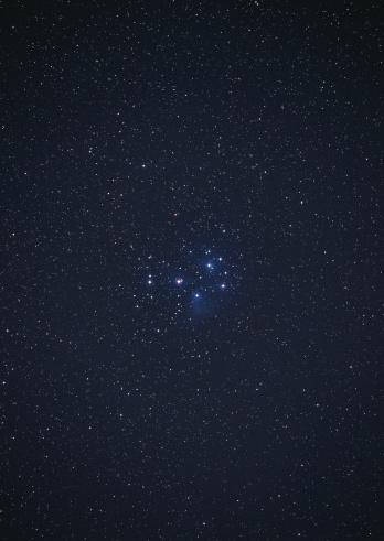 星空「Pleiades」:スマホ壁紙(3)